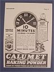 1928 Calumet Baking Powder