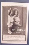1905 Mellin's Baby Food W/ Little Boy Looking In Mirror