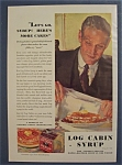 1931 Log Cabin Syrup