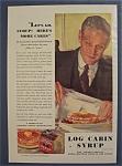 1931 Log Cabin Syrup