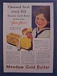 1931 Meadow Gold Butter