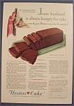 Vintage Ad: 1930 Hostess Cake