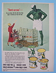 Vintage Ad: 1953 Green Giant Vegetables W/ Green Giant