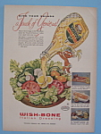 Vintage Ad: 1957 Wish-bone Italian Dressing