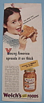 Vintage Ad: 1946 Welch's Orange Marmalade