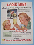 Vintage Ad: 1946 Florida Grapefruit Juice