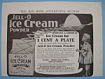 Vintage Ad: 1906 Jell-o Ice Cream Powder