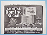 Vintage Ad: 1906 Crystal Domino Sugar