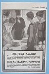 Vintage Ad: 1916 Royal Baking Powder