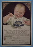 Vintage Ad: 1918 Baker's Cocoa
