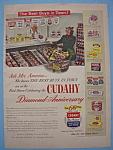Vintage Ad: 1950 Cudahy Foods
