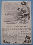Vintage Ad: 1914 Crisco Shortening