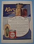 Vintage Ad: 1919 Karo Syrup