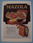 Vintage Ad: 1920 Mazola
