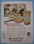 1924 Beech-nut Peanut Butter With Woman Making Sandwich
