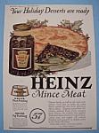 Vintage Ad: 1923 Heinz Mince Meat