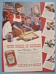 Vintage Ad: 1939 Heinz Chicken Noodle Soup