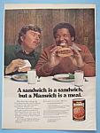 Vintage Ad: 1977 Hunt's Manwich