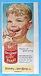 Vintage Ad: 1953 Van Camp Pork & Beans