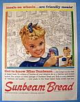 Vintage Ad: 1959 Sunbeam Bread