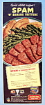 Vintage Ad: 1951 Hormel Spam And Banana Fritters