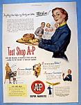 Vintage Ad: 1951 A & P Supermarkets