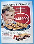 Vintage Ad: 1951 Nabisco Waffle Creams