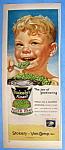 Vintage Ad: 1953 Stokely's Sugar Peas