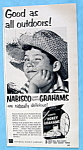 Vintage Ad: 1954 Nabisco Honey Grahams