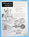 Vintage Ad: 1955 Jane Parker Bread