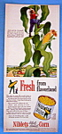 Vintage Ad: 1950 Green Giant Niblets Corn