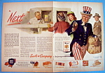 Vintage Ad: 1945 Swift & Company With Uncle Sam