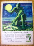 1961 Green Giant Peas With The Jolly Green Giant
