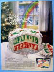 1979 Jell-o And Super Moist Cake Mix With Rainbow Cake