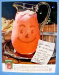 1960 Kool-aid With Pitcher & A Note To Santa