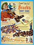 1952 Brach's Candy With Man Playing Violin