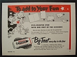 Vintage Ad: 1953 Wrigley's Spearmint Chewing Gum