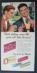 Vintage Ad: 1948 Dentyne Chewing Gum
