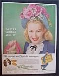 Vintage Ad: 1946 Whitman's Chocolates