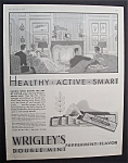 Vintage Ad: 1931 Wrigley's Double Mint Chewing Gum