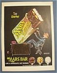 Vintage Ad: 1955 Mars Chocolate Bar
