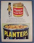 Vintage Ad: 1962 Planters Peanuts With Mr. Peanut