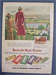 Vintage Ad: 1940 Beech - Nut Gum