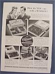 Vintage Ad: 1941 Whitman's Sampler