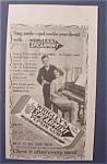 1914 Wrigley Spearmint Pepsin Gum With Woman & Piano