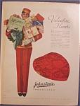 Vintage Ad: 1930 Johnston's Chocolates