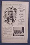 Vintage Ad: 1905 Balduff Gold Medal Chocolate Bon Bons
