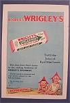 Vintage Ad: 1929 Wrigley's Spearmint Gum