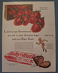 Vintage Ad: 1940 Curtiss Baby Ruth Candy Bar