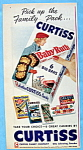 Vintage Ad: 1954 Curtiss Candy Company